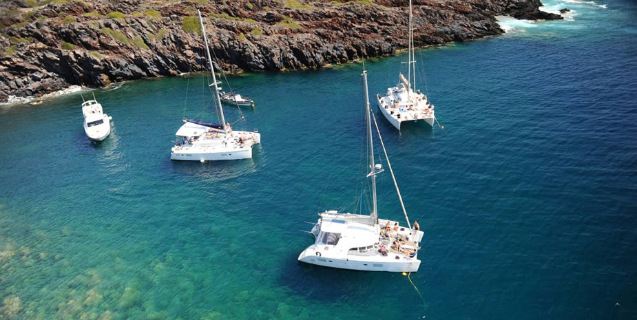 Vip Private Catamaran Excursions in Santorini