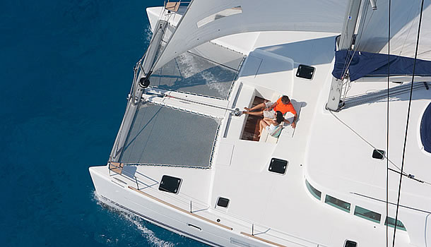 Prenium Private Catamaran Tours in Santorini