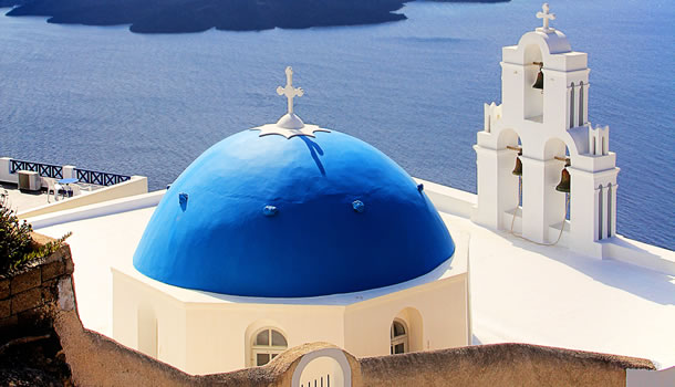 Private Tour to visit Firostefani in Santorini