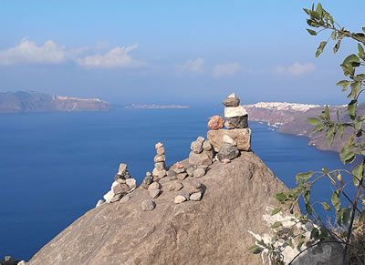 Enjoy Santorini's amazing views