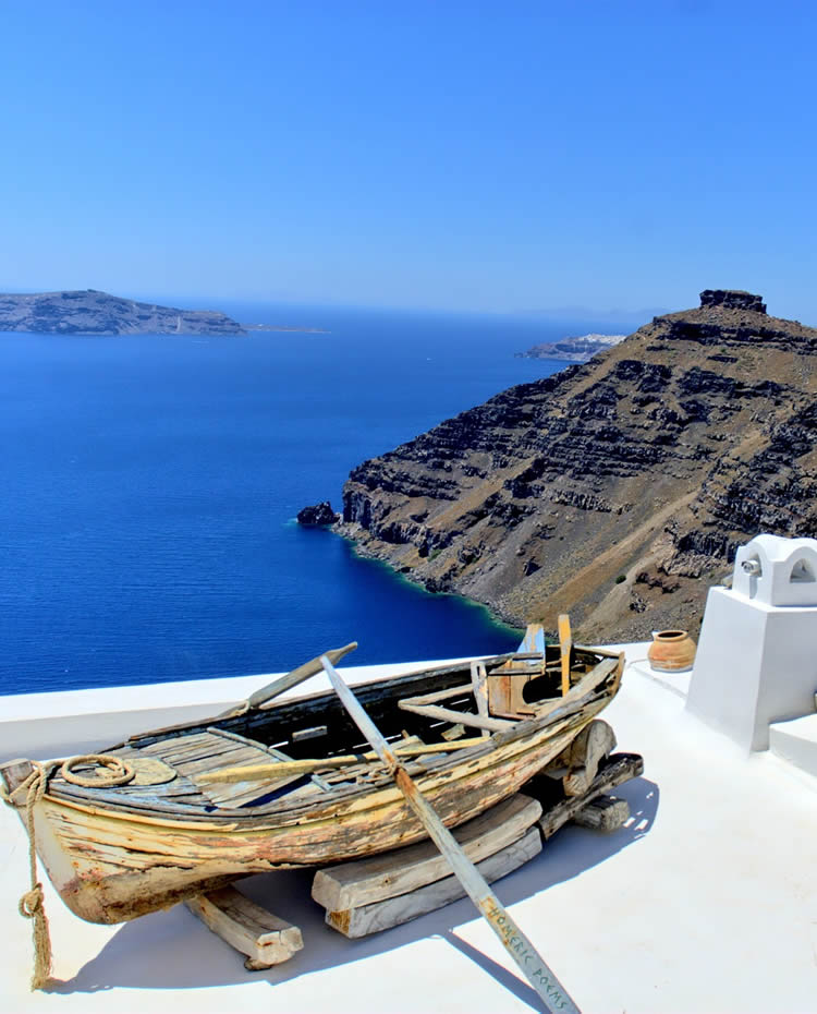 Private Tours and Excursions in Santorini by van with Roussos Tours