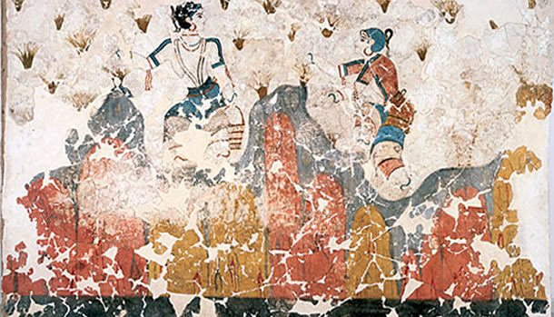 Private tour to Akrotiri Excavations & The Wall Paintings Of Thera, Santorini